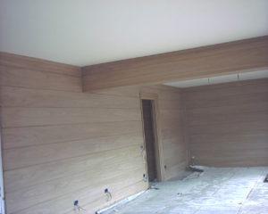 rivestimento in legno per soggiorno