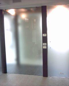 pareti legno - vetro per SPA